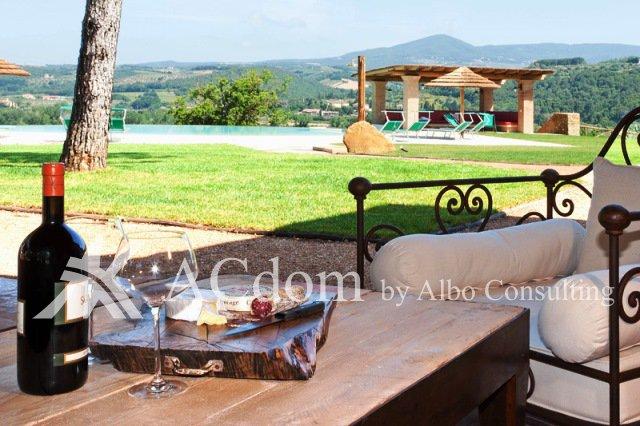Шикарнная вилла с бассейном в Тоскане - ACdom by Albo Consulting
