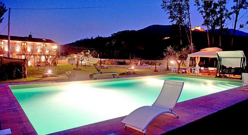 Шикарная вилла с панорамным видом в Тоскане
