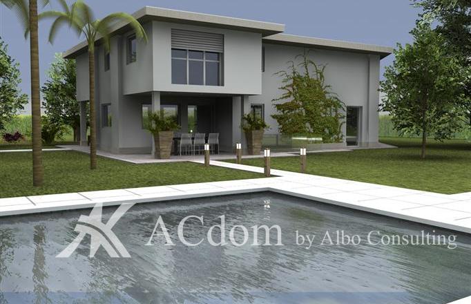 Вилла современного стиля на озере Гарда - ACdom by Albo Consulting